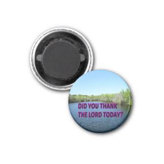Imã Você agradeceu ao senhor Hoje?