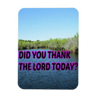 Ímã Você agradeceu ao senhor Hoje?