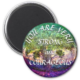 Imã Você é muito forte e corajoso