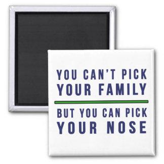 Imã Você não pode escolher sua família engraçada