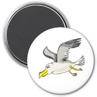 Imã Vôo da gaivota dos desenhos animados aéreo