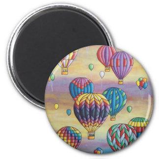 Imã vôo do balão