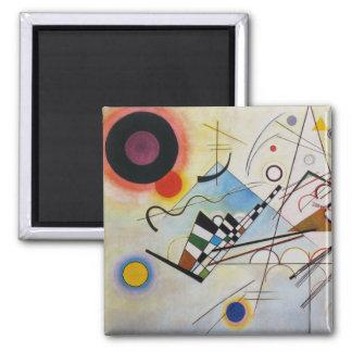 Imã Wassily Kandinsky - composição 8 - arte funcional