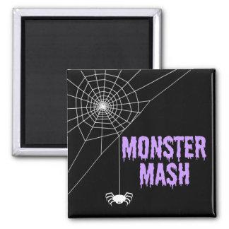 Imã Web de aranha do Dia das Bruxas da erva-benta do