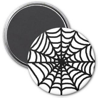 Imã Web de aranha feliz do Dia das Bruxas