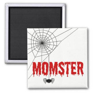 Imã Web de aranha vermelha da pia batismal do