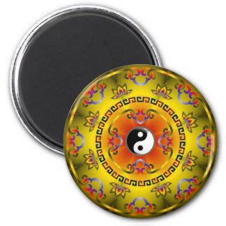 Imã Yin amarelo Yang
