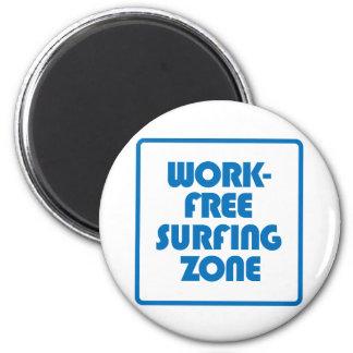 Imã Zona surfando livre do trabalho