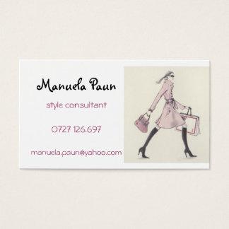 Imagem 5, Manuela Paun, consultante do estilo, Cartão De Visitas