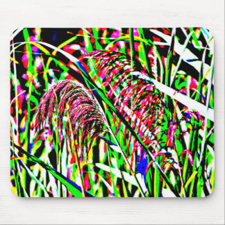 Imagem abstrata da grama em um campo mouse pad