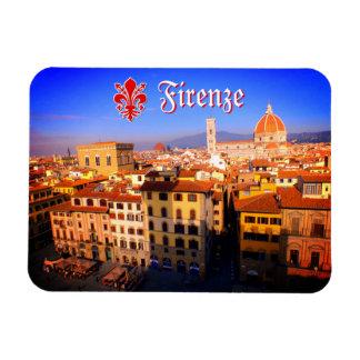 Imagem aérea de Florença, Italia Ímã