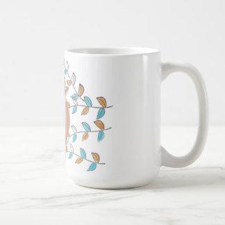 Imagem bonito da coruja do copo canecas