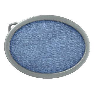 Imagem branca azul do olhar da textura da sarja de