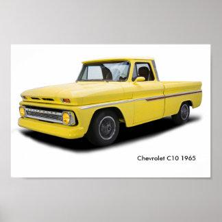 Imagem clássica do carro para o poster
