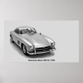 Imagem clássica dos carros para o poster