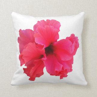 Imagem cor-de-rosa da flor do hibiscus travesseiro