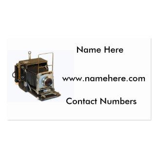 Imagem da câmera para o cartão de visita