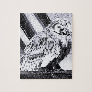 Imagem da coruja quebra-cabeça