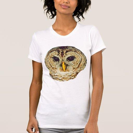 Imagem da coruja t-shirts