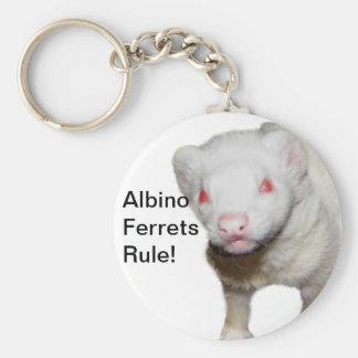 Imagem da doninha do albino chaveiro