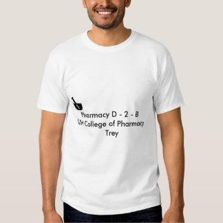 Imagem da farmácia, farmácia D - 2 - faculdade de T-shirts