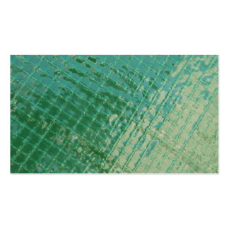 Imagem da foto da tampa plástica verde cartão de visita