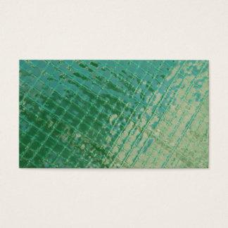 Imagem da foto da tampa plástica verde cartão de visitas