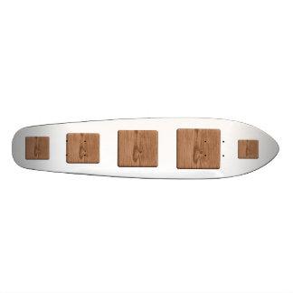 Imagem da madeira de Brown Skate Personalizado