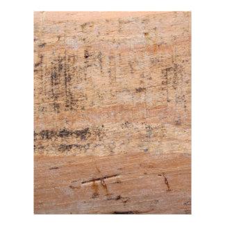 Imagem da madeira lançada costa panfletos personalizado