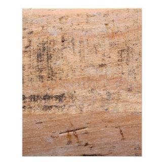 Imagem da madeira lançada costa modelo de panfletos