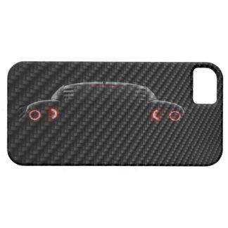 imagem da mudança do carro 3D do carbono do modelo Capas Para iPhone 5