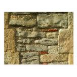 Imagem da parede de pedra cartão postal