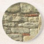 Imagem da parede de pedra porta-copo