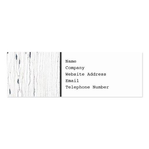 Imagem da pintura rachada branca cartões de visitas