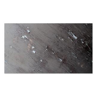 Imagem da pintura velha da casca cartoes de visita