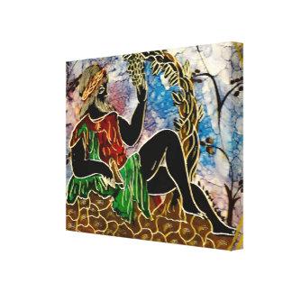 Imagem das belas artes para o canvas-impressão