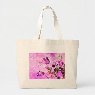 imagem de borboletas e flores bolsa para compra