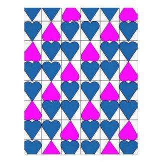 imagem de corações panfletos coloridos