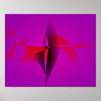 Imagem de Digitas espontânea do abstrato do roxo