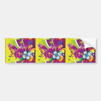 imagem de flor e borboleta adesivos
