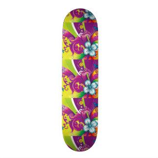 imagem de flor e borboleta skates