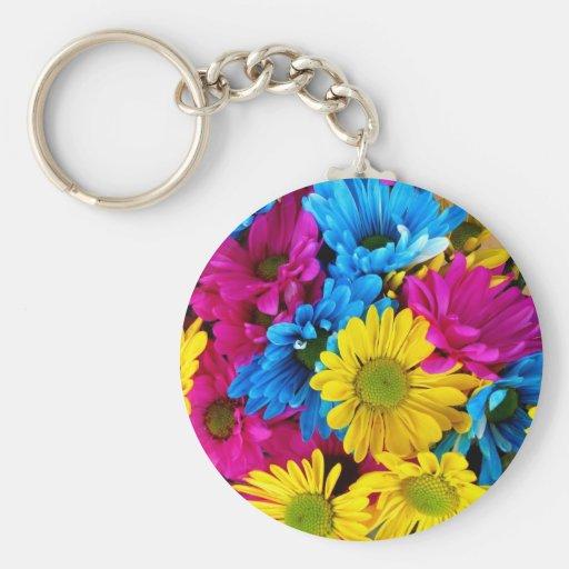 imagem de flores chaveiro