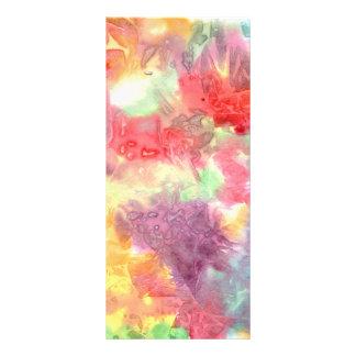 Imagem de fundo colorida Pastel do watercolour 10.16 X 22.86cm Panfleto