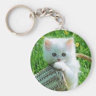 imagem de gatinho chaveiro