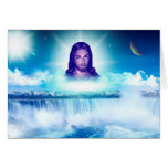imagem de jesus cartão comemorativo