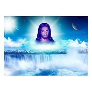 imagem de jesus cartão de visita grande