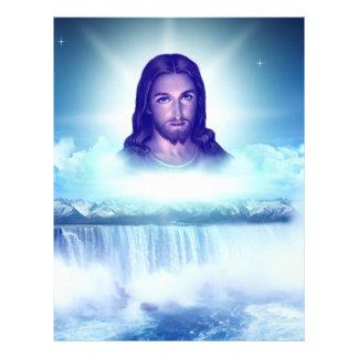imagem de jesus panfleto personalizado