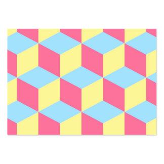 imagem de lousangulos e quadrados cartão de visita grande