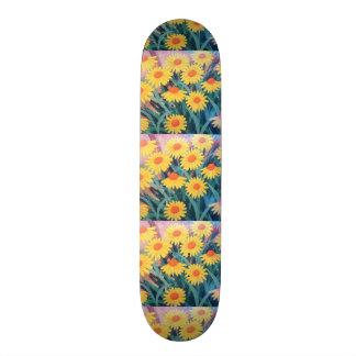 imagem de malmequeres skate