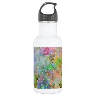 Imagem de mármore abstrata das cores de néon